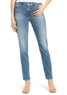 AG Adriano Goldschmied AG Mari High Waist Ankle Slim Straight Leg Jeans (Gold Rush)