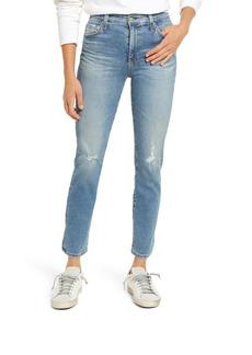 AG Adriano Goldschmied AG Mari High Waist Slim Crop Jeans (21 Years Indefinite Destructed)