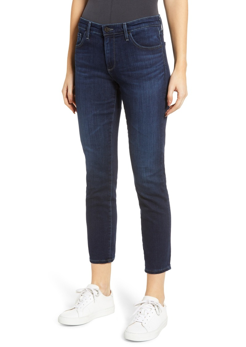AG Adriano Goldschmied AG The Prima Mid Rise Crop Cigarette Jeans (Concord)
