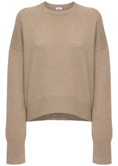 AG Adriano Goldschmied Cropped Cashmere Sweater