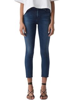 AGOLDE Sophie Mid Rise Crop Skinny Jeans (Claremont)
