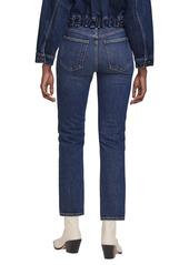 AGOLDE Wilder Ankle Straight Leg Jeans