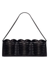 Akris Anouk Twisted Leather Clutch