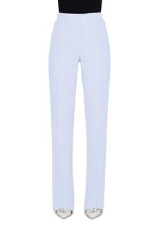 Akris Carl Double Face Linen & Wool Crepe Pants
