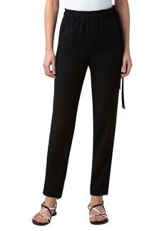 Akris Christian Technical Wool Blend Jogger Pants
