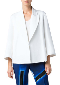 Akris Mina Short Double Face Jacket
