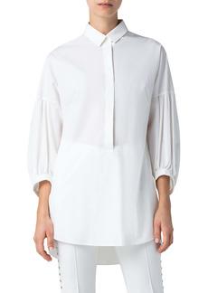 Akris punto Cotton Poplin Shirt