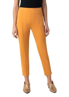 Akris Punto Franca Techno Cotton Blend Ankle Pants