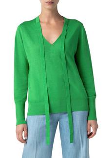 Akris punto Linen Blend Sweater