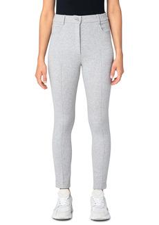 Akris punto Maren Stretch Cotton Blend Jersey Pants