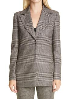 Women's Akris Glen Plaid Wool Blazer
