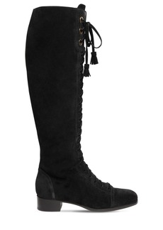 Alberta Ferretti 30mm Suede Over-the-knee Boots