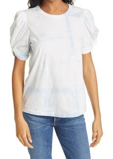 A.L.C. Kati Puff Sleeve Tie Dye T-Shirt
