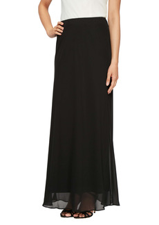 Alex Evenings A-Line Chiffon Skirt