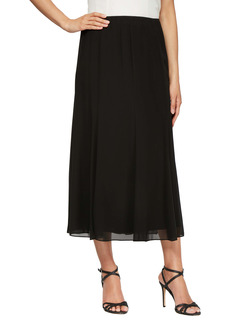 Alex Evenings Chiffon Detail Skirt