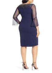 Alex Evenings Embellished Cocktail Dress (Plus Size)