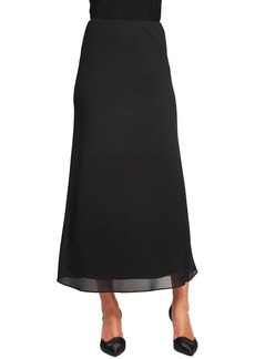 Alex Evenings Georgette A-Line Skirt
