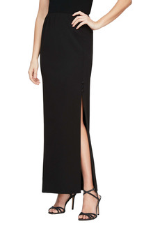 Alex Evenings Long Column Skirt