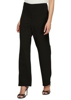 Alex Evenings Slim Leg Crepe Pants