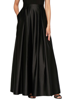 Alex Evenings Satin Ball Skirt