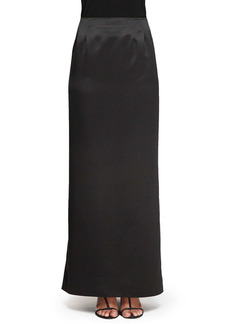 Alex Evenings Satin Column Skirt