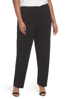 Alex Evenings Slim Leg Pants (Plus Size)