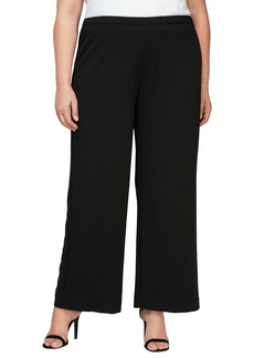 Alex Evenings Wide Leg Pants (Plus Size)