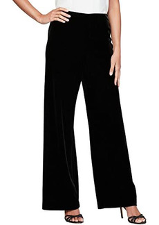 Alex Evenings Basic Velvet Pants