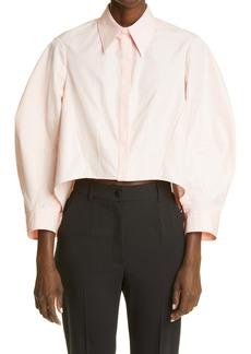 Alexander McQueen Cocoon Cotton Shirt