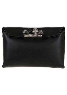 Alexander McQueen Four-ring Skull Clutch