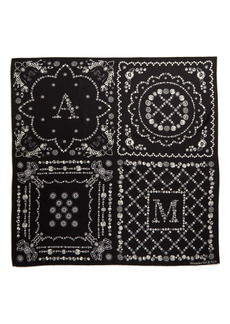 Alexander McQueen Jewel Print Silk Scarf