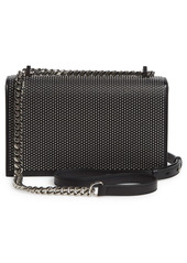 Alexander McQueen Jeweled Studded Leather Crossbody Bag