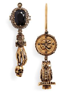 Alexander McQueen Lucky Charms Drop Earrings