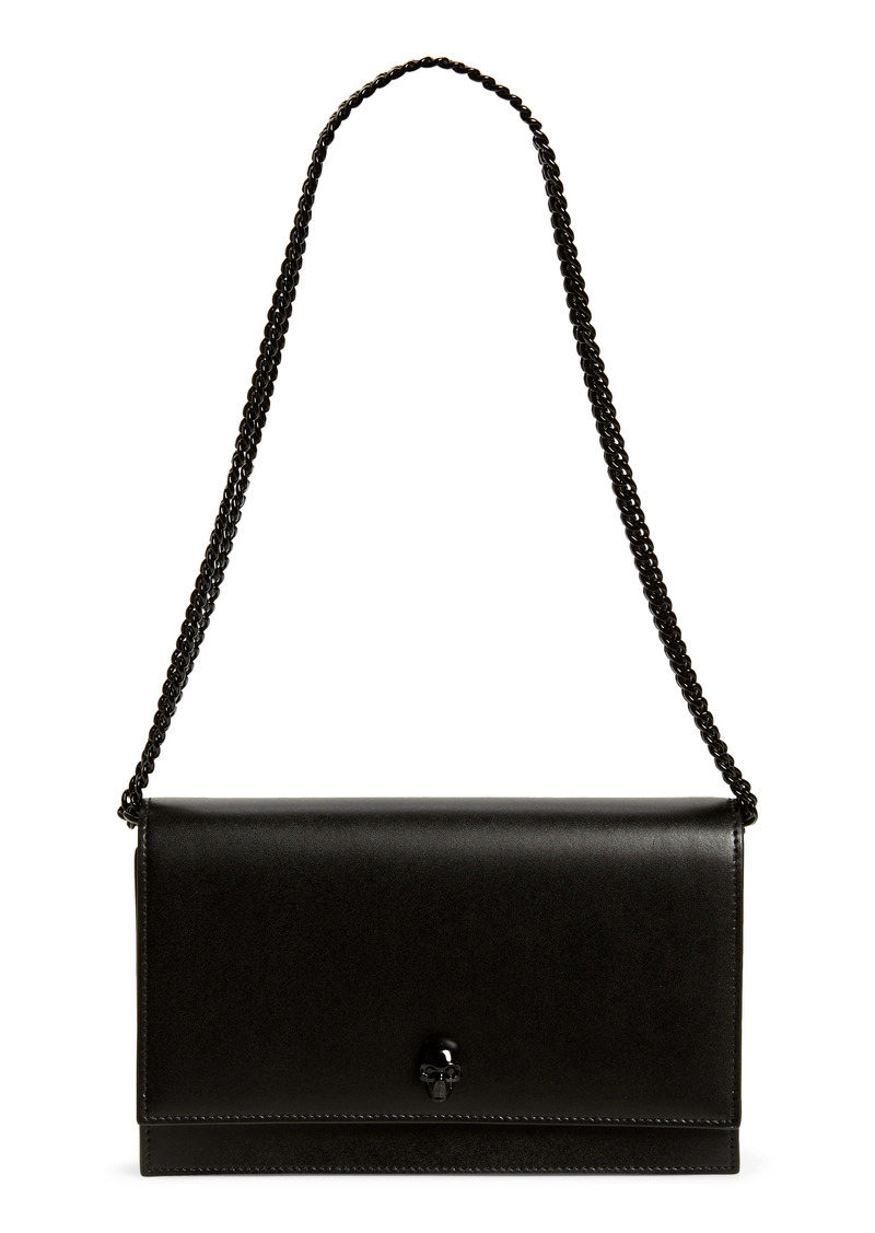 Alexander McQueen Medium Skull Leather Shoulder Bag