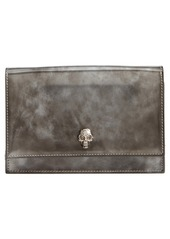 Alexander McQueen Mini Skull Brushed Leather Crossbody Bag