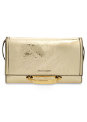 Alexander McQueen New Small Story Leather Crossbody Bag