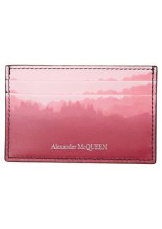 Alexander McQueen Ombré Leather Card Case