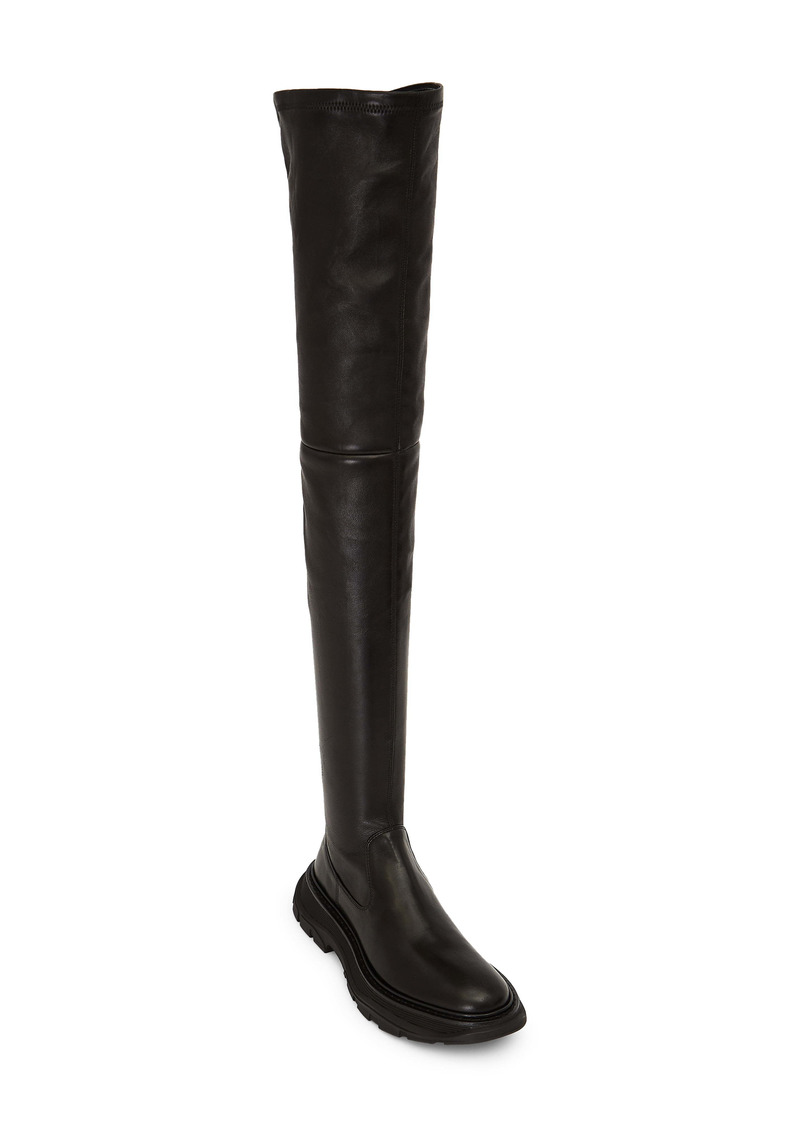 Alexander McQueen Over the Knee Boot (Women)