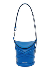 Alexander McQueen Small The Curve Leather Shoulder Bag