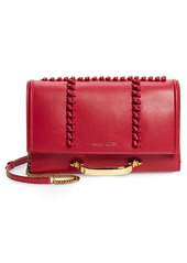 Alexander McQueen Small The Story Knotted Leather Crossbody Bag