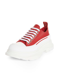 Alexander McQueen Tread Slick Low Top Sneaker (Women)