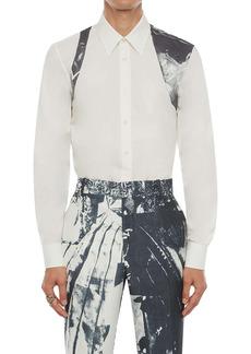Alexander McQueen X-Ray Print Harness Button-Up Shirt