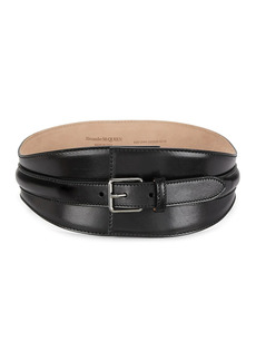 Alexander McQueen Corset Leather Belt