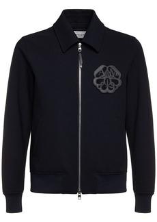 Alexander McQueen Cotton Blend Casual Jacket W/ Patch