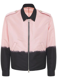 Alexander McQueen Dip Dye Nylon Shirt Jacket