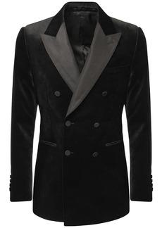 Alexander McQueen Double Breasted Velvet Tuxedo
