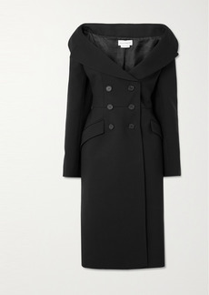 Alexander McQueen Double-breasted Wool-blend Coat