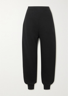 Alexander McQueen Embroidered Cotton-jersey Track Pants