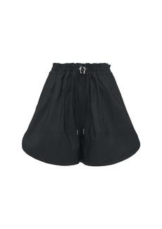 Alexander McQueen Faille Mini Shorts