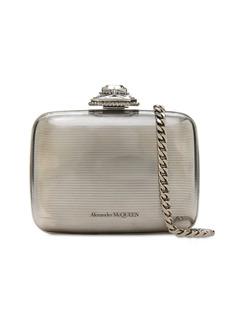 Alexander McQueen Mini Metal Clutch